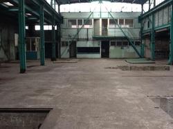 Oude fabriekshal Van Acker in Landsmeer