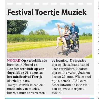 Stadsblad De Echo - voorpagina 23-07-2014
